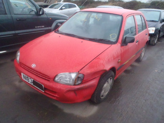 1996 TOYOTA STARLET SP Parts